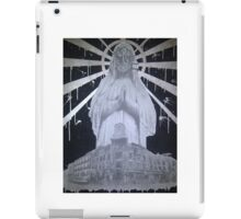Untitled- Virgin Mary gas mask piece iPad Case/Skin