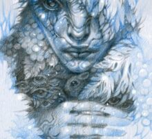 Frost forest fairy under the snow Sticker