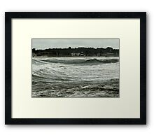 September Storm Framed Print