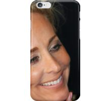 Blond Woman Smiling iPhone Case/Skin