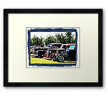Car Show Framed Print