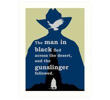 Dark Tower - Gunslinger Art Print