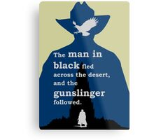 Dark Tower - Gunslinger Metal Print