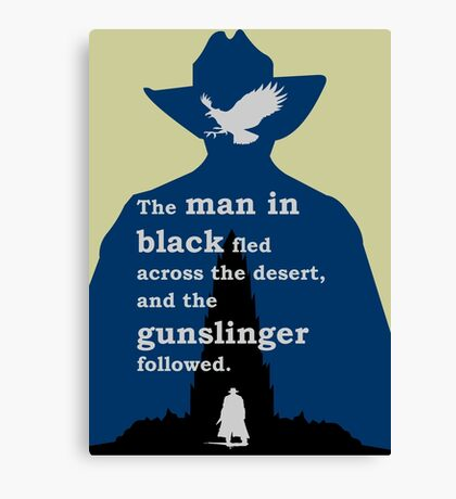 Dark Tower - Gunslinger Canvas Print