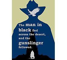 Dark Tower - Gunslinger Photographic Print