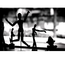 Wooden Puppet Photographic Print