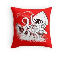 Release the Blooper! Throw Pillow