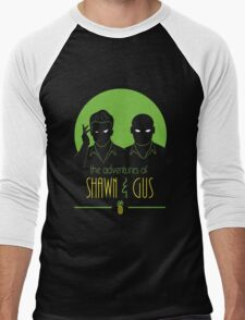The Adventures of Shawn and Gus Men's Baseball ¾ T-Shirt