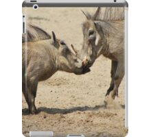Warthog - Knockout Power from Africa iPad Case/Skin