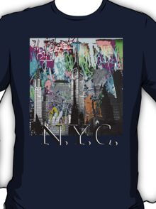 NYC street art T-Shirt