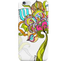 Abstract Art Flower iPhone Case/Skin
