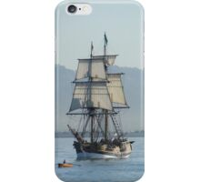 A Row with Lady Washington iPhone Case/Skin