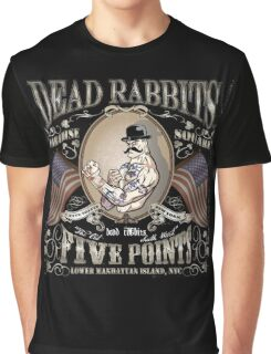 Dead Rabbits Brawler Graphic T-Shirt