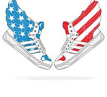 """Adidas JS Wings 2.0 """"Air Force Flag"""" Pack  by DSC94"""