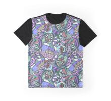 abstract colored pattern Graphic T-Shirt