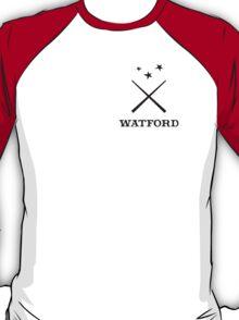 Watford School of Magicks, Simon Snow - Small Logo, black T-Shirt