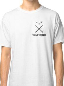 Watford School of Magicks, Simon Snow - Small Logo, black Classic T-Shirt
