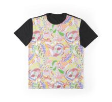 abstract light colored pattern Graphic T-Shirt