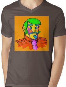 Captain Vector, conceptual character. Mens V-Neck T-Shirt