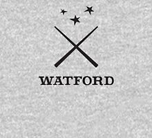 Watford School of Magicks, Simon Snow - Large Logo, black Mens V-Neck T-Shirt