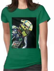 valentino rossi cool Womens Fitted T-Shirt