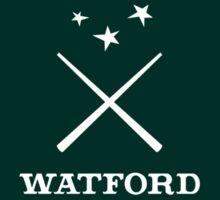 Watford School of Magicks, Simon Snow - Small Logo, white T-Shirt