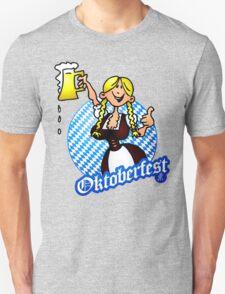 Oktoberfest - girl in a dirndl Unisex T-Shirt