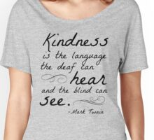 Kindness Women's Relaxed Fit T-Shirt