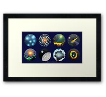 A Universe of Wonders #2 • 2010 Framed Print