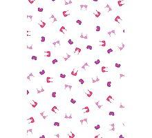 Pink bras Photographic Print