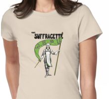W.S.P.U. - The Suffragette Womens Fitted T-Shirt