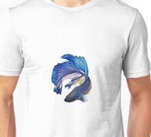 Collection Poisson Combattant Bleu Unisex T-Shirt