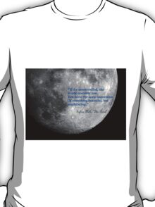 If the Moon Smiled... T-Shirt