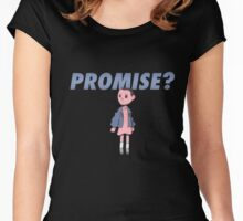 PROMISE T-SHIRT Women's Fitted Scoop T-Shirt