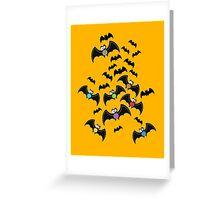 Batty Greeting Card