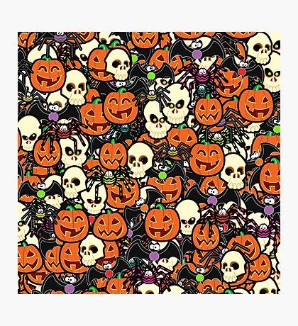 Halloween Hullabaloo  Photographic Print