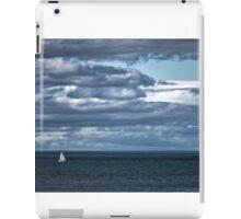 Yacht near Tarlair. iPad Case/Skin