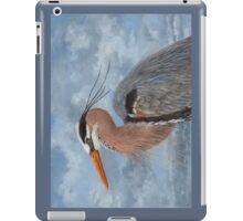 Great Blue iPad Case/Skin