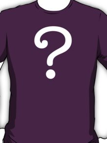 Question Mark - style 3 T-Shirt