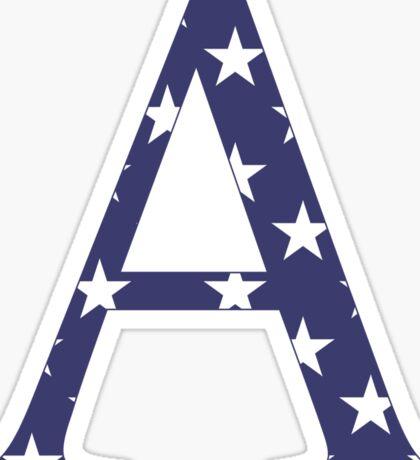 stars a // alpha Sticker