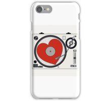 Retro Record Player iPhone Case/Skin