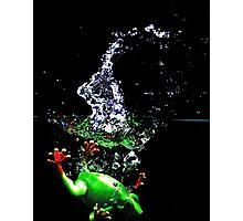 Frogger Splash Photographic Print