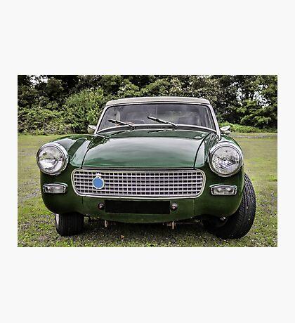 Classic sports car Photographic Print