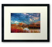 Autumnal Morn Framed Print