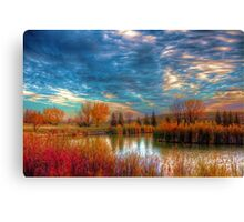 Autumnal Morn Canvas Print