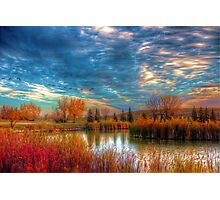 Autumnal Morn Photographic Print