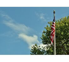 Indivisible, with liberty and justice for all.  Photographic Print