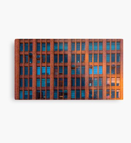 Windows at the Manchester Unity Building Metal Print