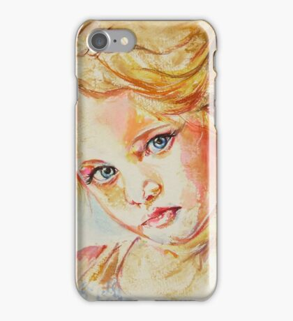 Portrait of a beauty iPhone Case/Skin