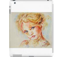 Portrait of a beauty iPad Case/Skin